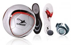 beMeister,  zestaw akcesoriów wspomagający trening piłkarzy
