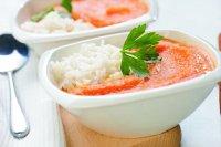 Zupa marchewkowo- pomarańczowa z imbirem